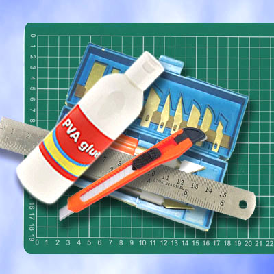 Model Making Tools In Our Shop