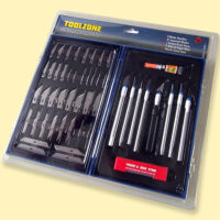 57pc knife tool set