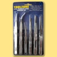 6pc tweezer set