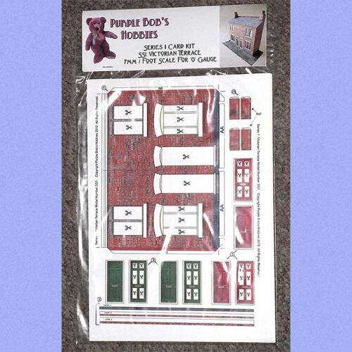 7mm scale model flat front terrace bag