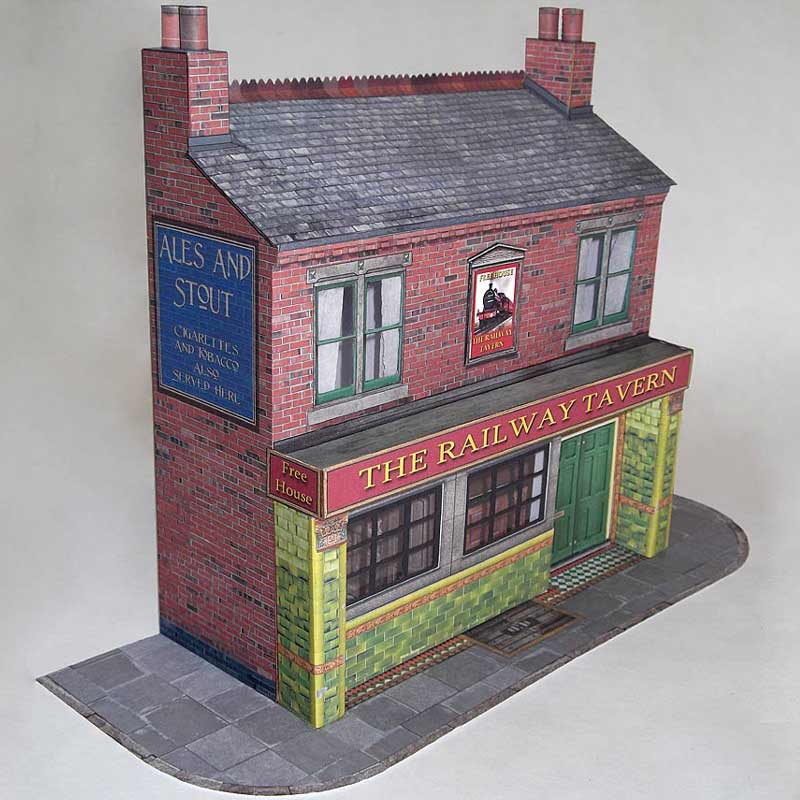 7mm scale pub model