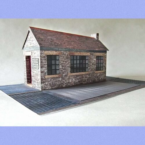 yard office 7mm scale