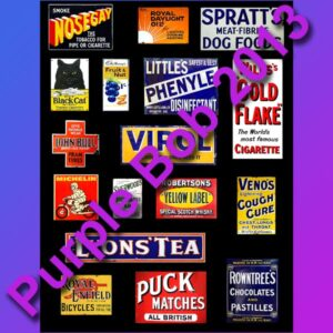 enamel signs B
