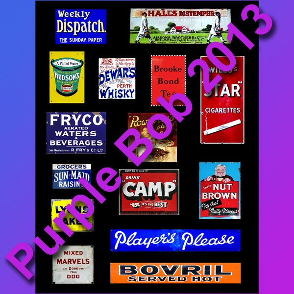 enamel signs C