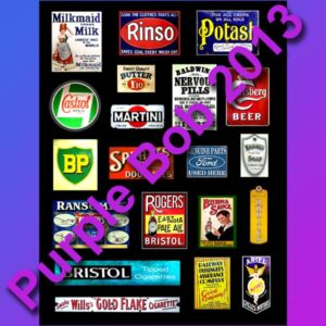 enamel signs F