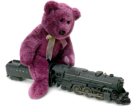 train-model-rider-purple-bob-o-gauge-railroad-railway