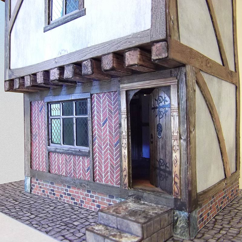 Model of tudor house