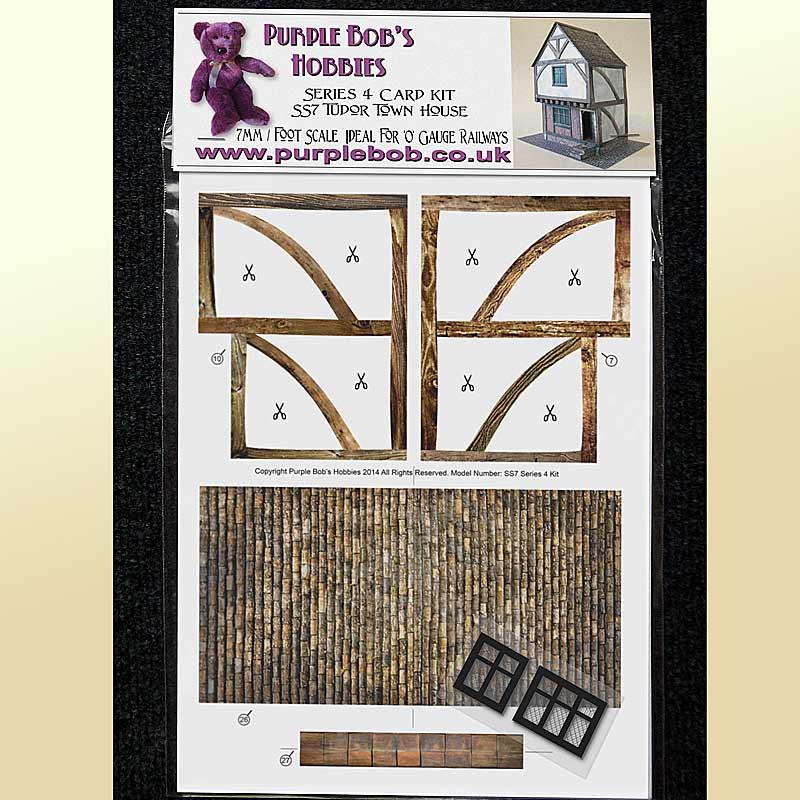 Make a model of a tudor house