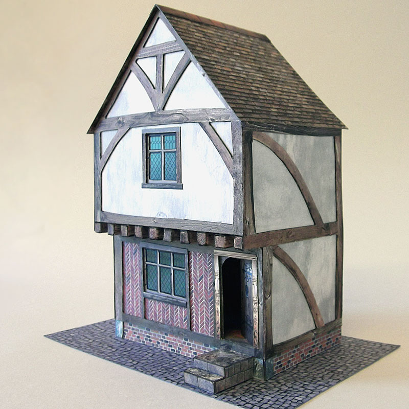 Build model tudor house
